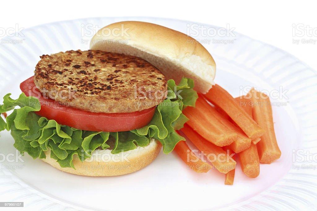 Vegan Burger royalty-free stock photo