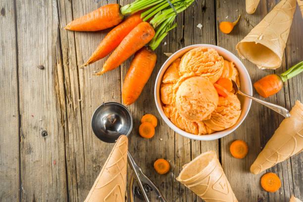 Veganes Karotteneis – Foto