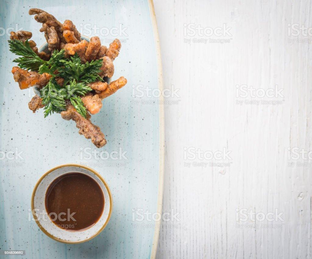 채식주의 당근 튀김 - 로열티 프리 0명 스톡 사진