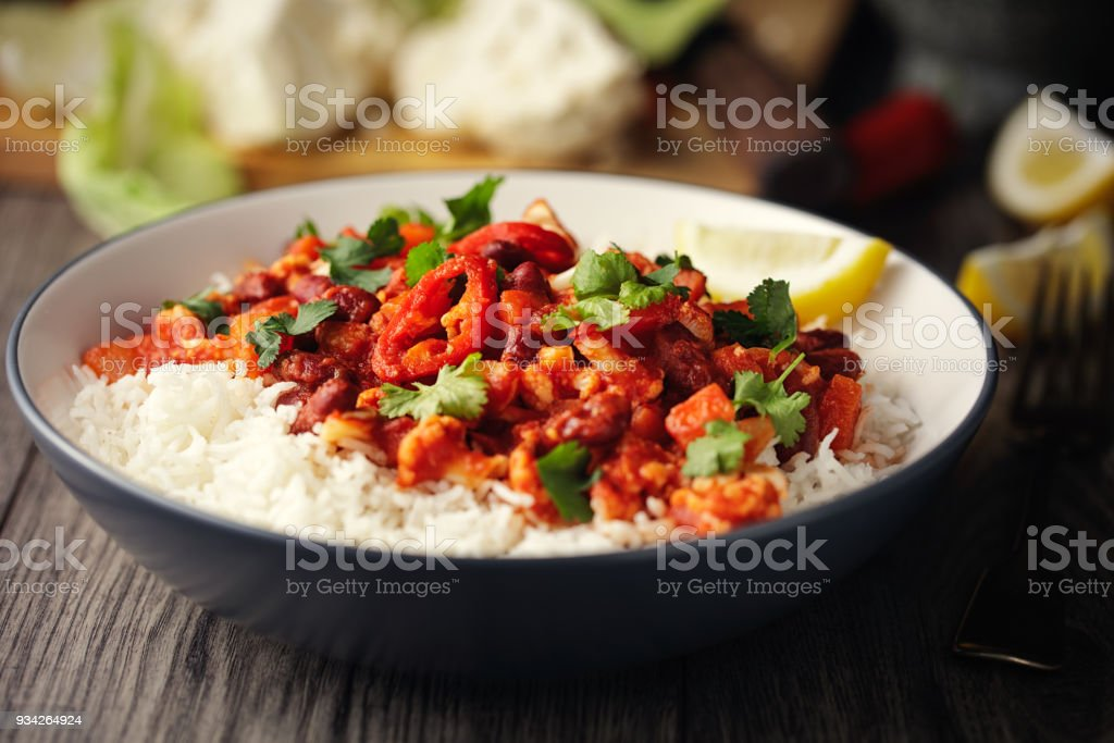 Vegan chilli con carne - Royalty-free Backgrounds Stock Photo
