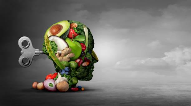 Vegan Diet And Mental Function stock photo