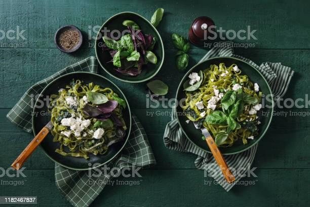 Photo of Vegan Gluten-Free Creamy Spinach Pasta