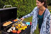Vegan health eating - barbeque