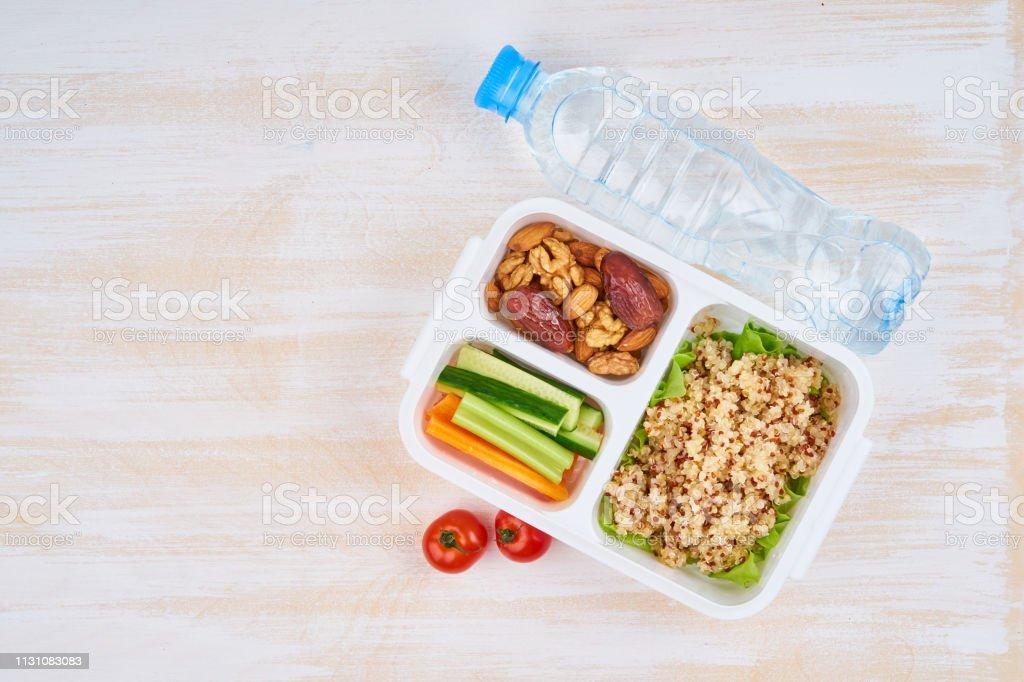Gewichtsverlust wird vegan