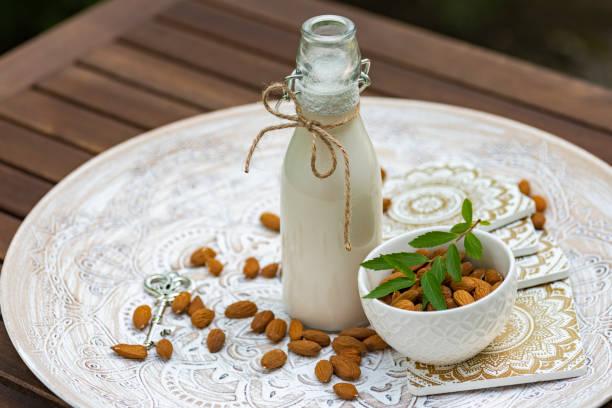 Vegane Bio-Nussmilch – Foto