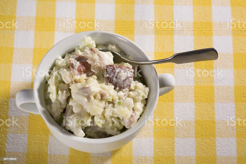 Vegan Insalata di patate foto stock royalty-free