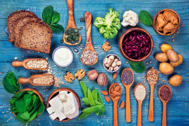 Sources de protéines végétaliennes. - Photo