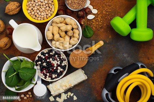 istock Vegan proteins food 844444858