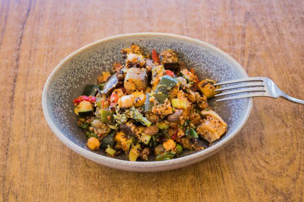 Vegan salad stock photo
