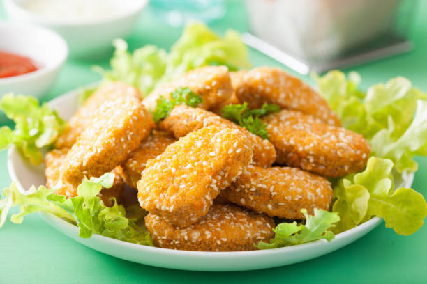 pépites de soja Vegan sains snack - Photo