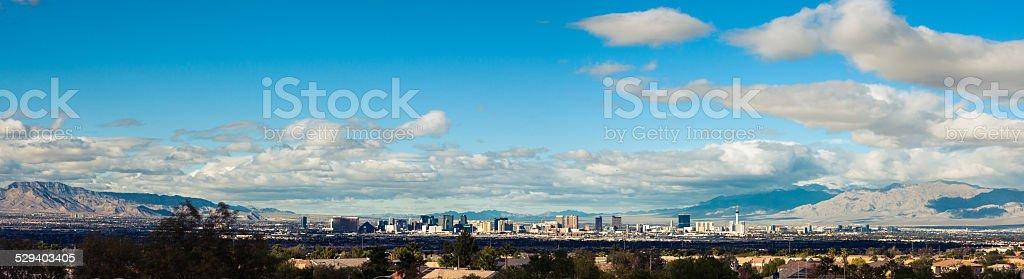 Vegas Clouds stock photo