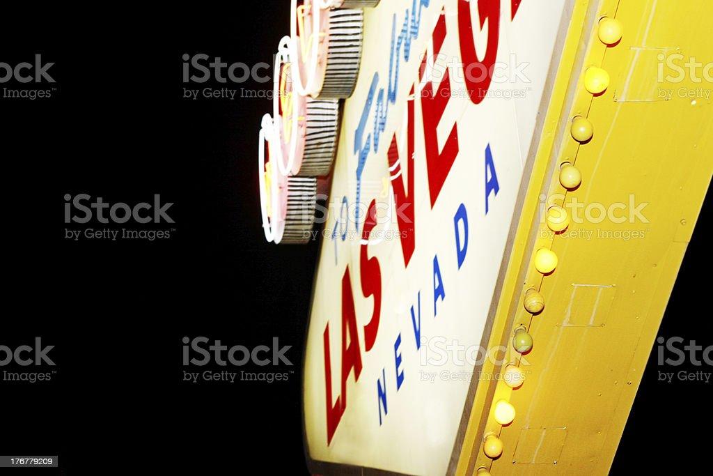 Vegas sign royalty-free stock photo