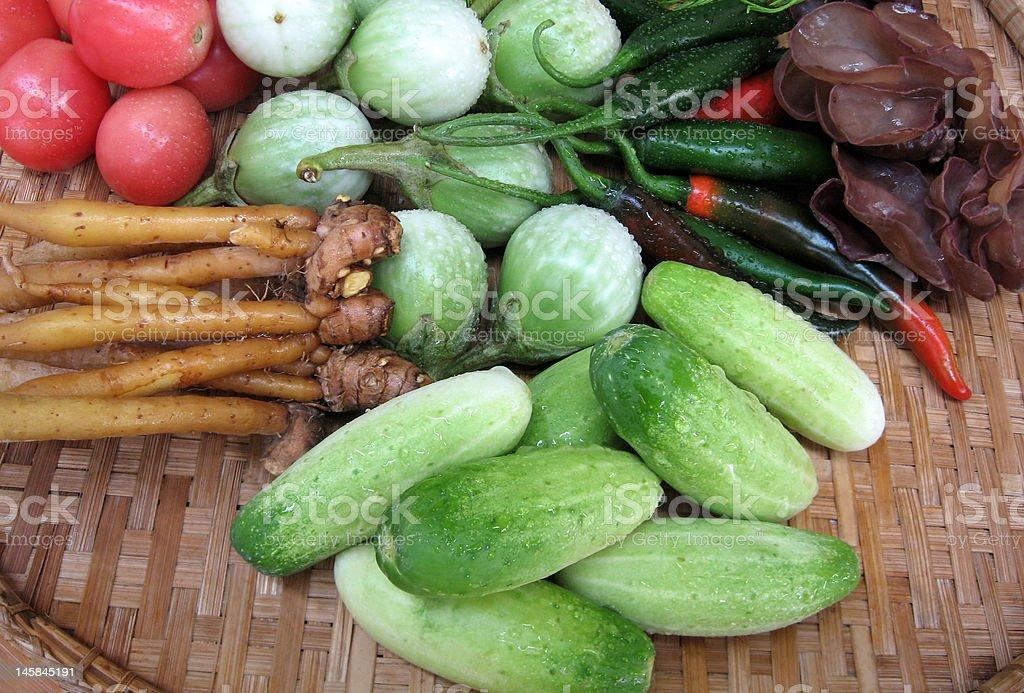 vegatable-Southeast Asia royalty-free stock photo