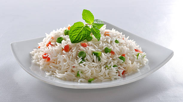 Vege Rice A delicious and  healthy Vegetable Rice. basmati rice stock pictures, royalty-free photos & images