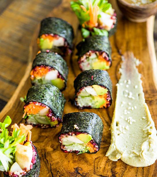 Vegerarian nori rolls - Photo