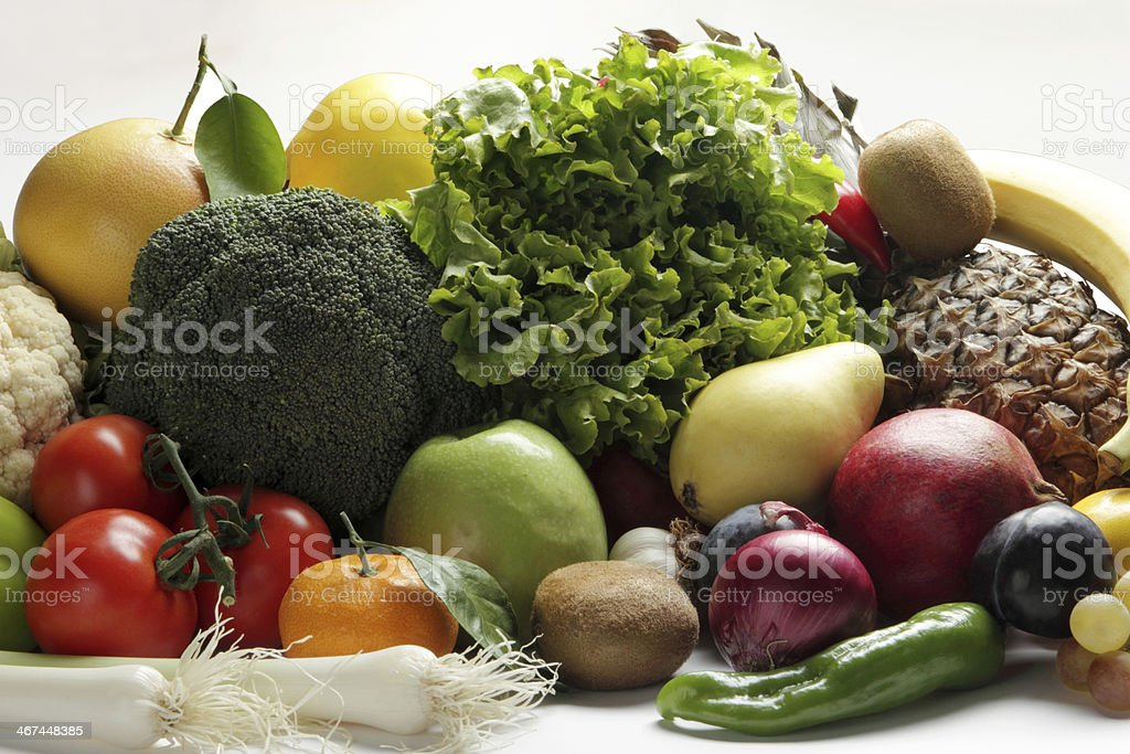 Vegetable and Fruit royalty-free stock photo