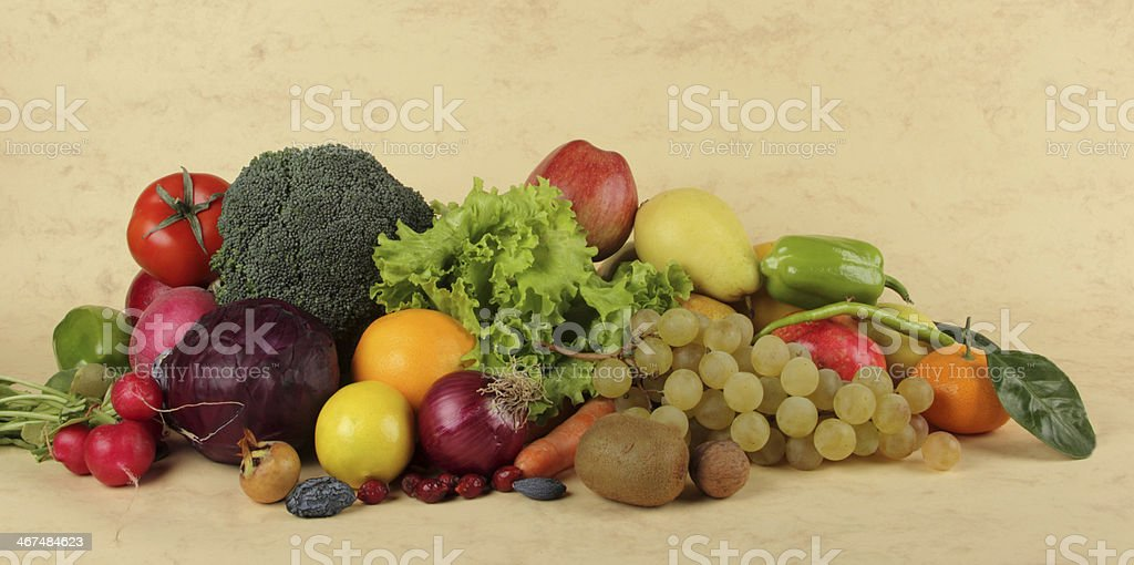 Vegetable and Fruit stock photo