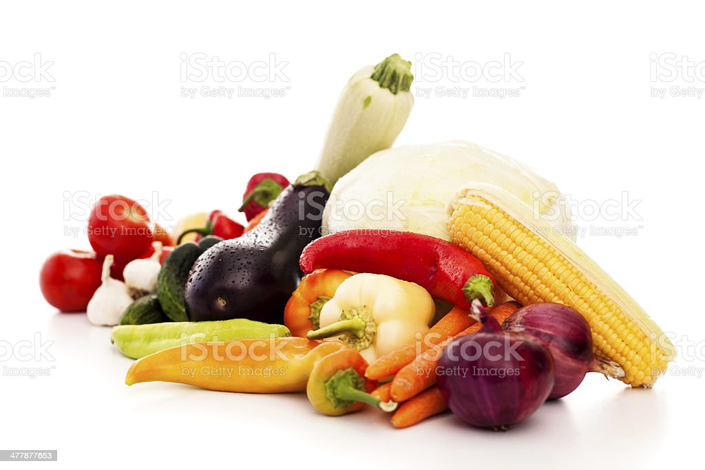 Vegetable arrangement royalty-free stock photo