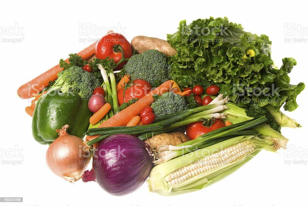 Vegetable assortment royalty-free stock photo