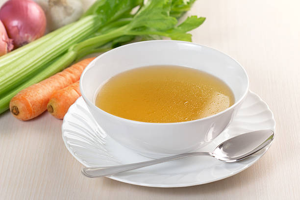 vegetable bouillon stock photo