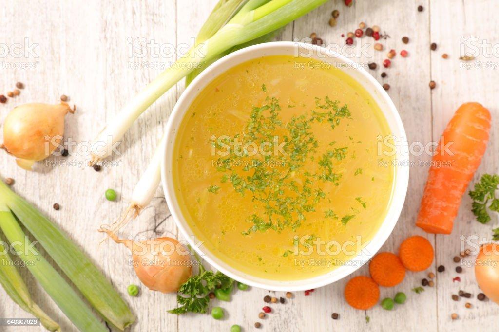 Bouillon de légumes - Photo