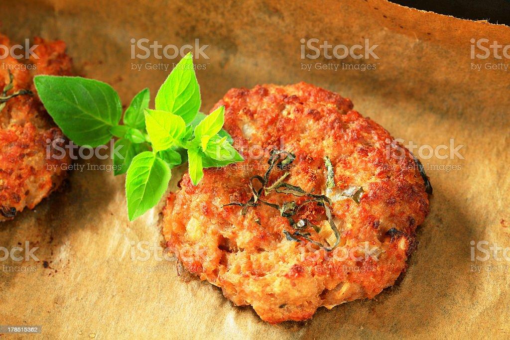 Vegetable burgers royalty-free stock photo
