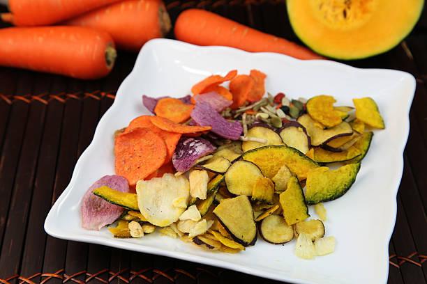 Gemüse-chips – Foto
