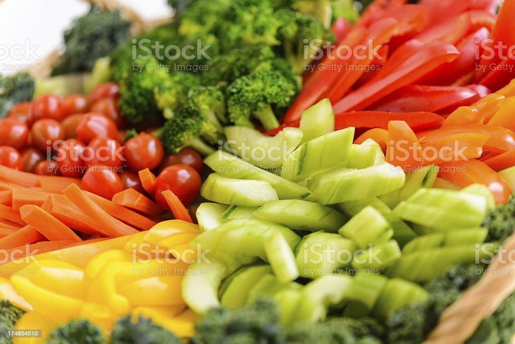 Vegetable Crudite stock photo