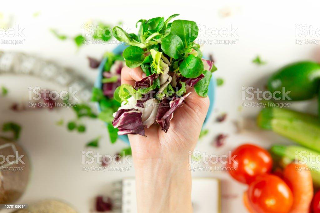 Diabetische Obst- und Gemüsediät