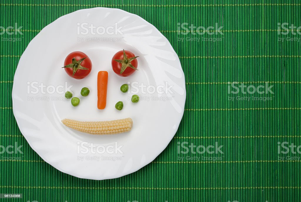 Vegetable diet royalty-free stock photo