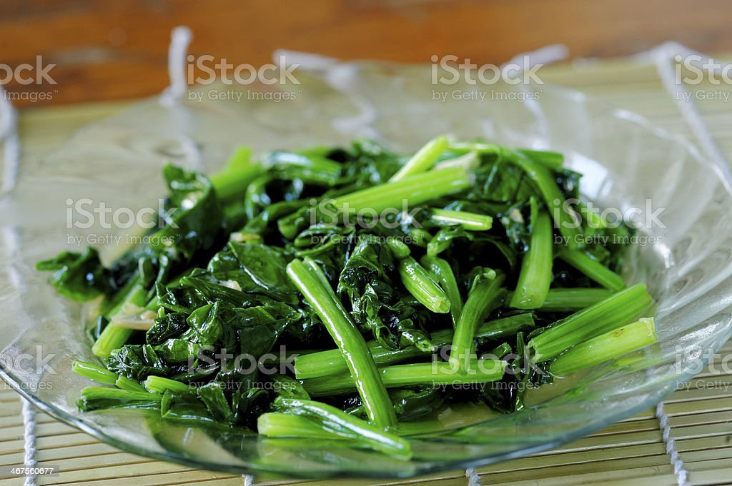 Vegetable fire royalty-free stock photo