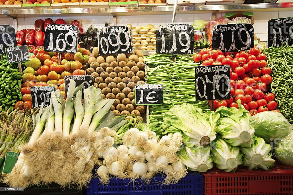 vegetable for sale royalty-free stock photo