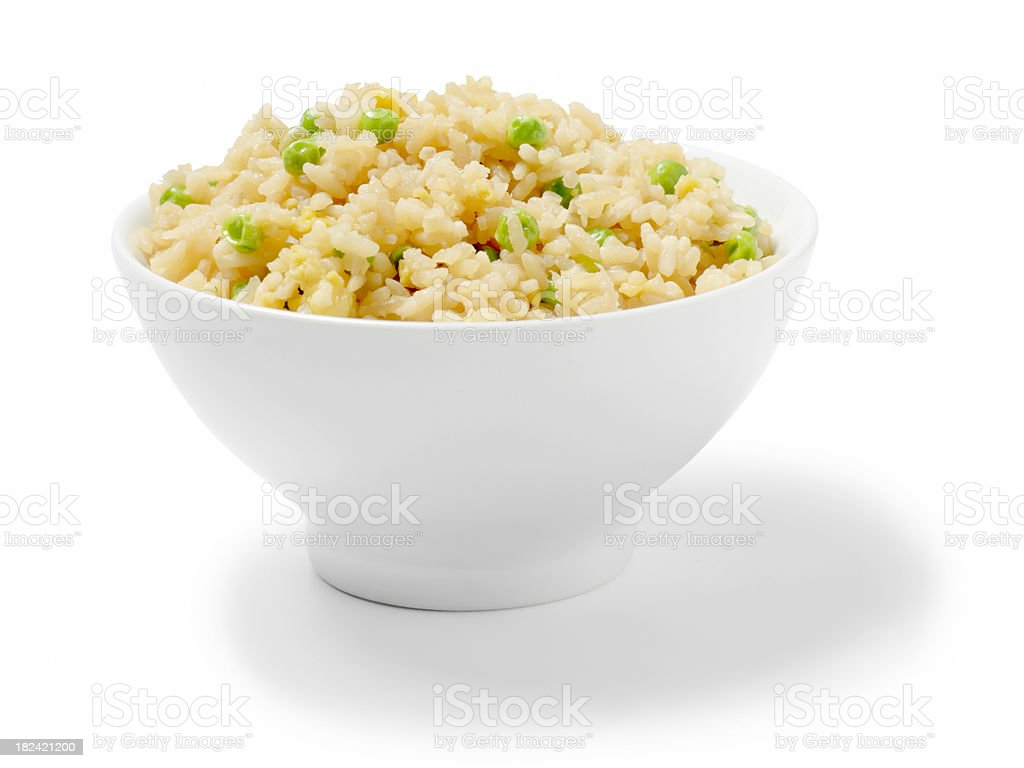 Vegetable Fried Rice stock photo