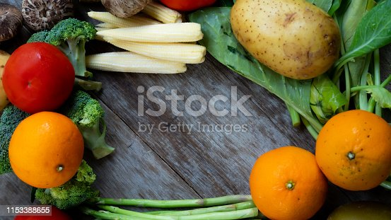 Vegetable in the kitchen