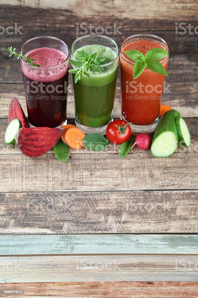 vegetable juices royalty-free stock photo