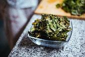 istock Vegetable Kale Chips 1248179339