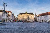 istock Vegetable Market And Fountain-Brno, Czech Republic 1197170672