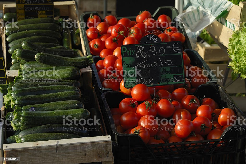 vegetable market stand royalty-free stock photo