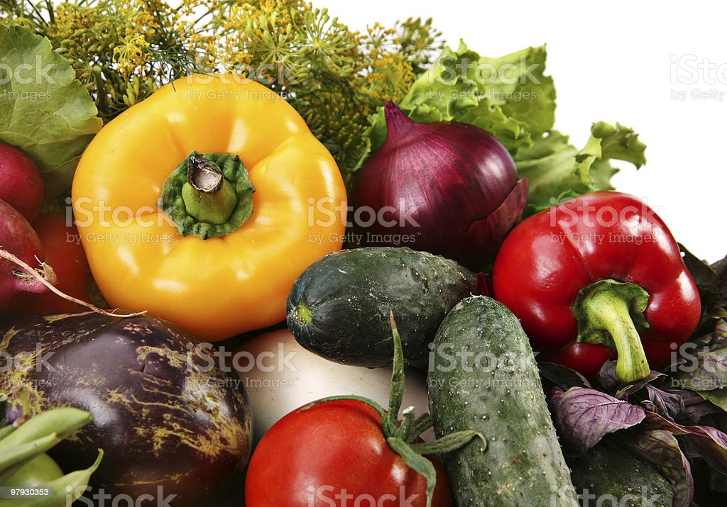 Vegetable mix royalty-free stock photo