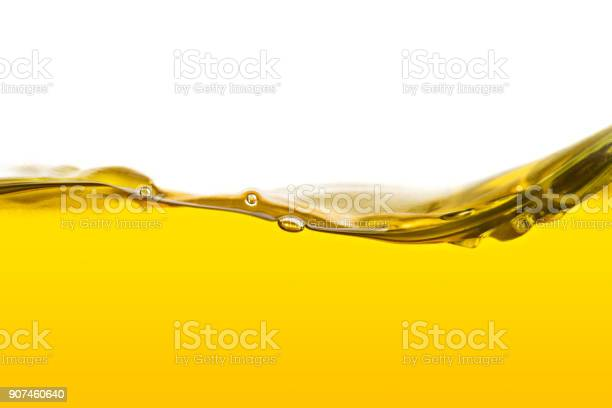Photo of Vegetable oil background