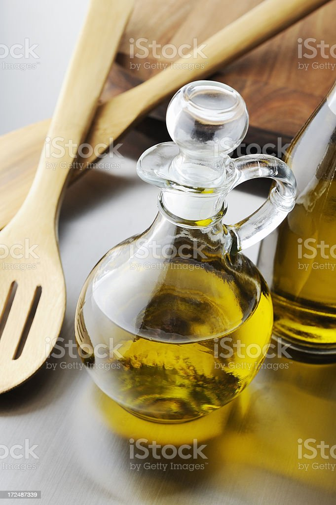Vegetable oil stock photo