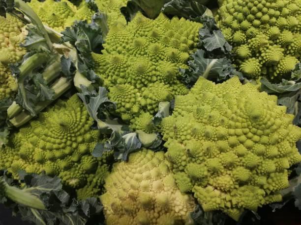 Gemüse-Romanesco Kohl – Foto