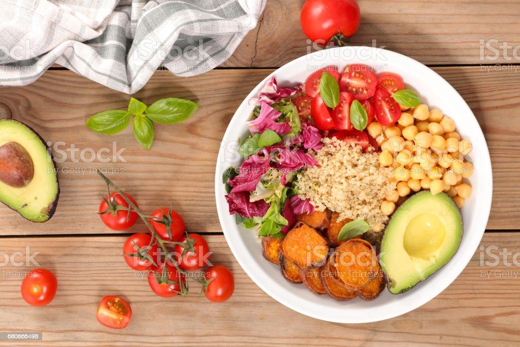 vegetable salad bowl - Photo