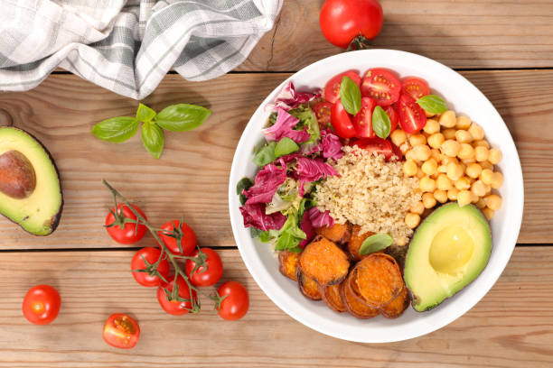 Bol de Salade de légumes - Photo