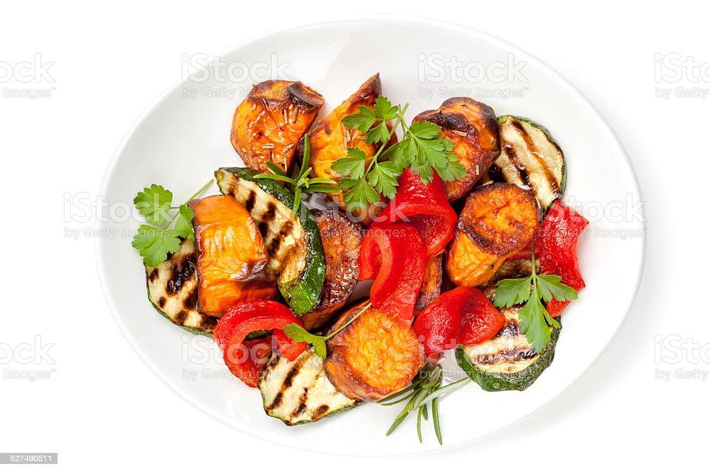 Salada de legumes - foto de acervo