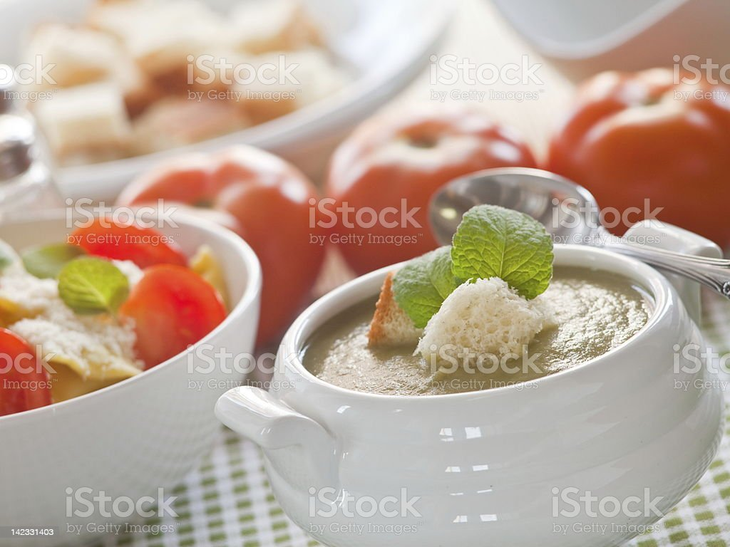 vegetable sauce royalty-free stock photo