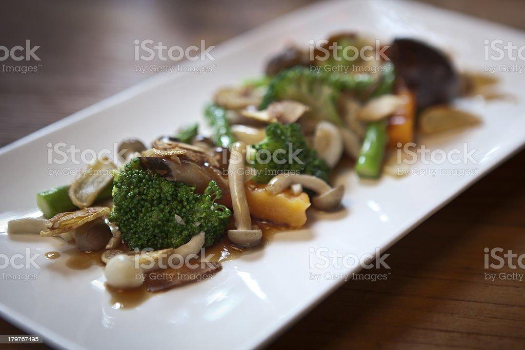 Vegetable Saute royalty-free stock photo
