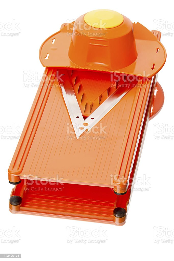Vegetable slicer stock photo