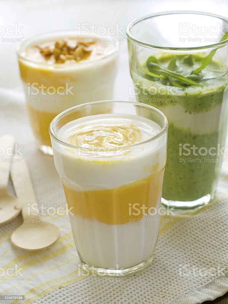 Vegetable  smoothie royalty-free stock photo