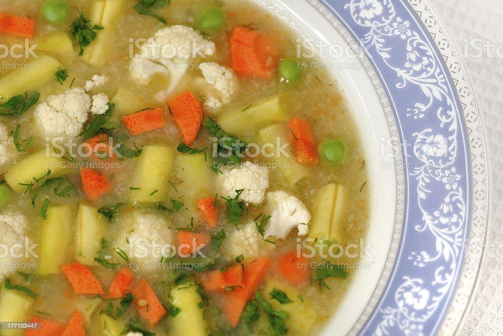 Sopa de legumes foto royalty-free